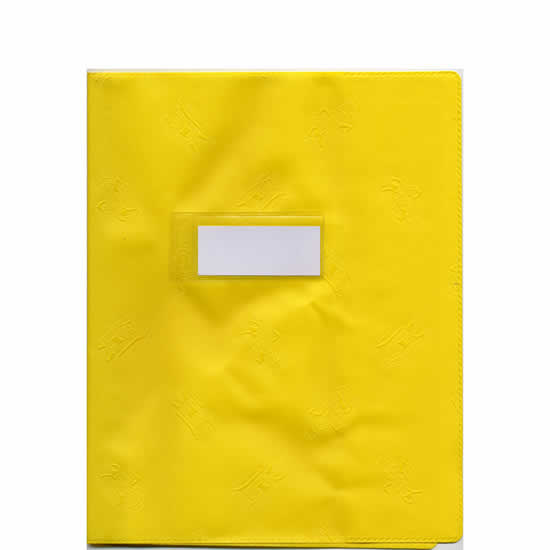 Protège-cahiers  Elba A4 opaque jaune