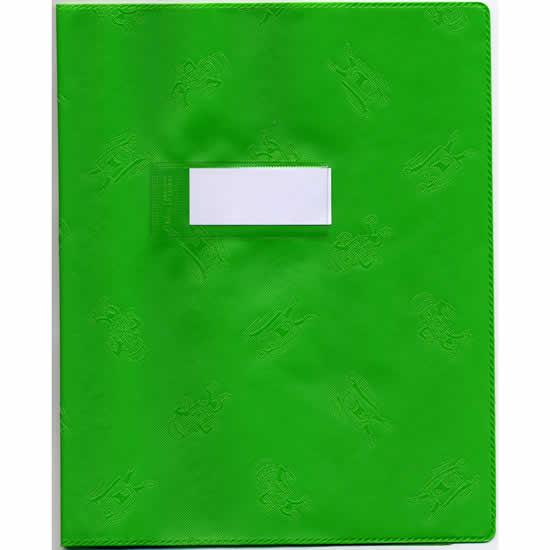 Protège-cahiers  Elba A4+ opaque vert