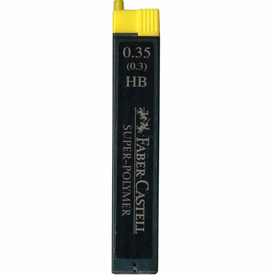 Etui de mines Faber-Castell 0,35mm pour portemine