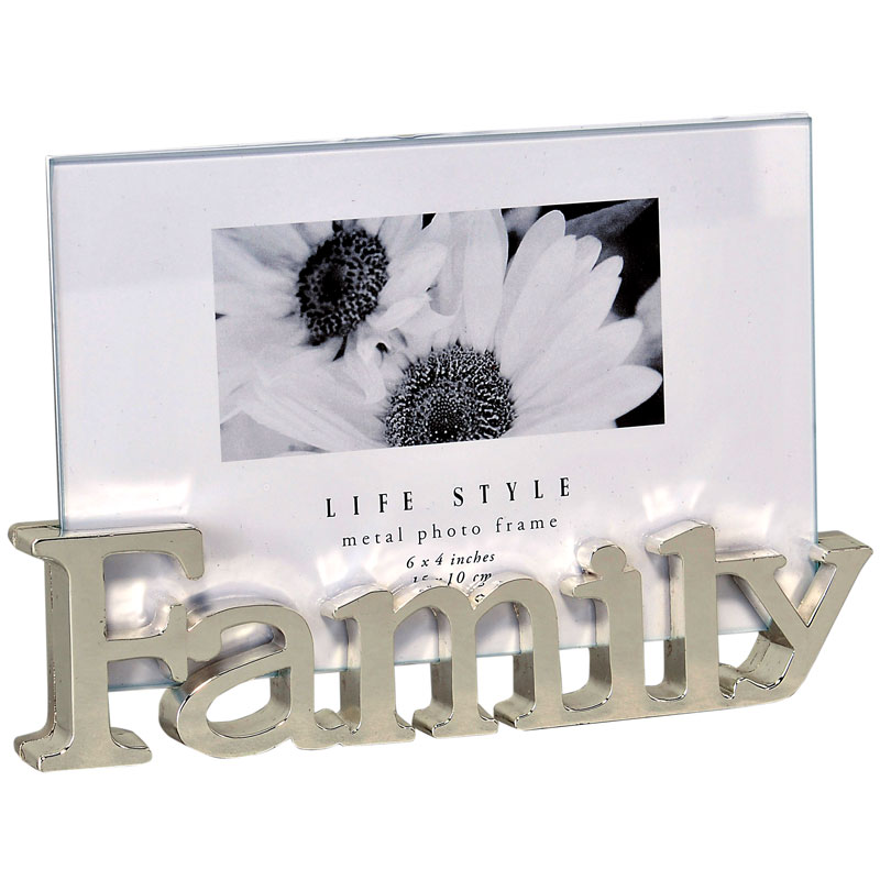 cadre moderne 10x15 family emd. Black Bedroom Furniture Sets. Home Design Ideas