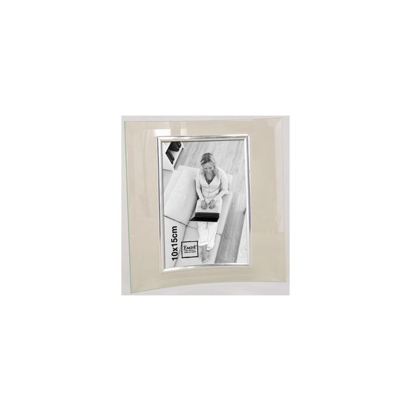 cadre photo en verre galb pour photo 10x15 emd. Black Bedroom Furniture Sets. Home Design Ideas