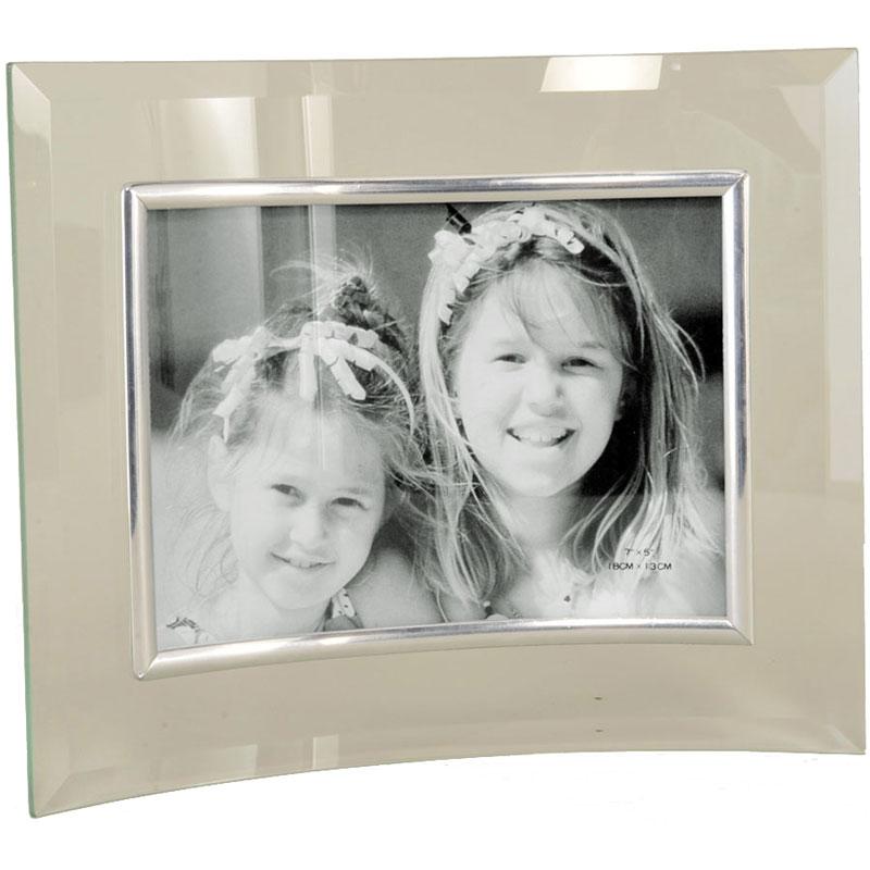 cadre photo en verre galb pour photo 13x18 emd. Black Bedroom Furniture Sets. Home Design Ideas