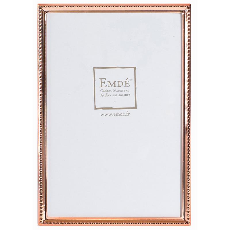 cadre photo fin cuivre 13x18 emd emd. Black Bedroom Furniture Sets. Home Design Ideas