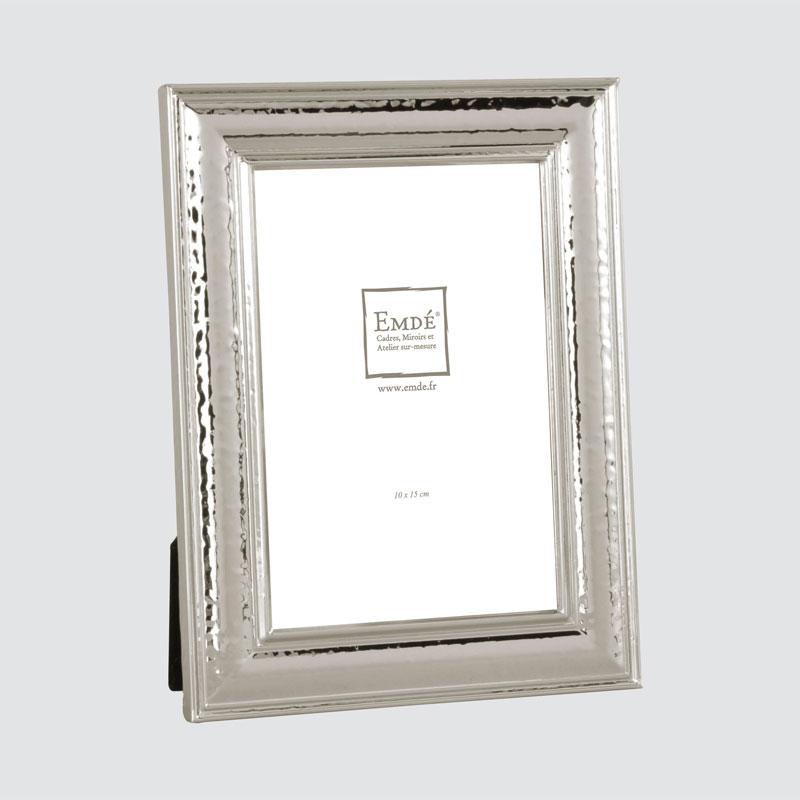 cadre photo m tal argent 10x15 emd. Black Bedroom Furniture Sets. Home Design Ideas