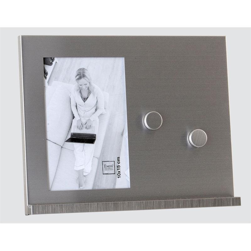 cadre photos 10x15 m tal magnetique emd. Black Bedroom Furniture Sets. Home Design Ideas