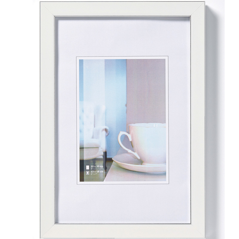 cadre photo ambience blanc 10x15 cm walther. Black Bedroom Furniture Sets. Home Design Ideas