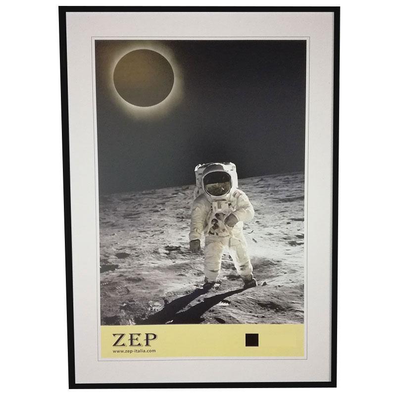 Cadre photo 21x29 7cm noir a4 zep for Grand cadre photo mural