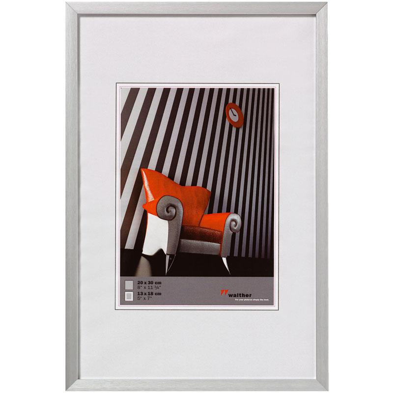 Cadre Photo Aluminium Brossé 40x50 Chair Walther