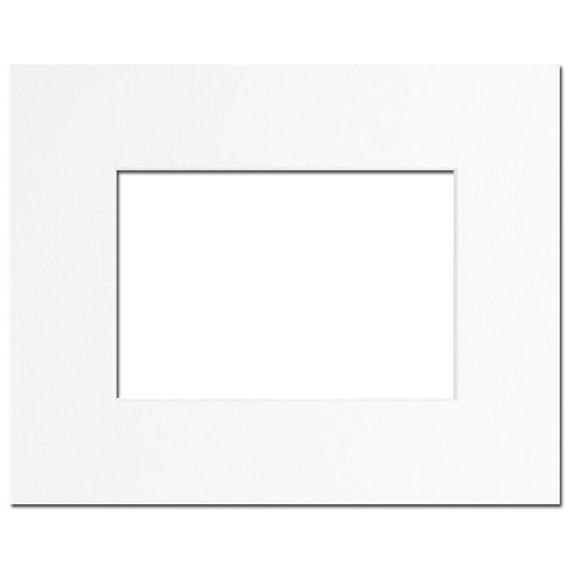 passe partout blanc 40x50 pour photo 24x30 brio