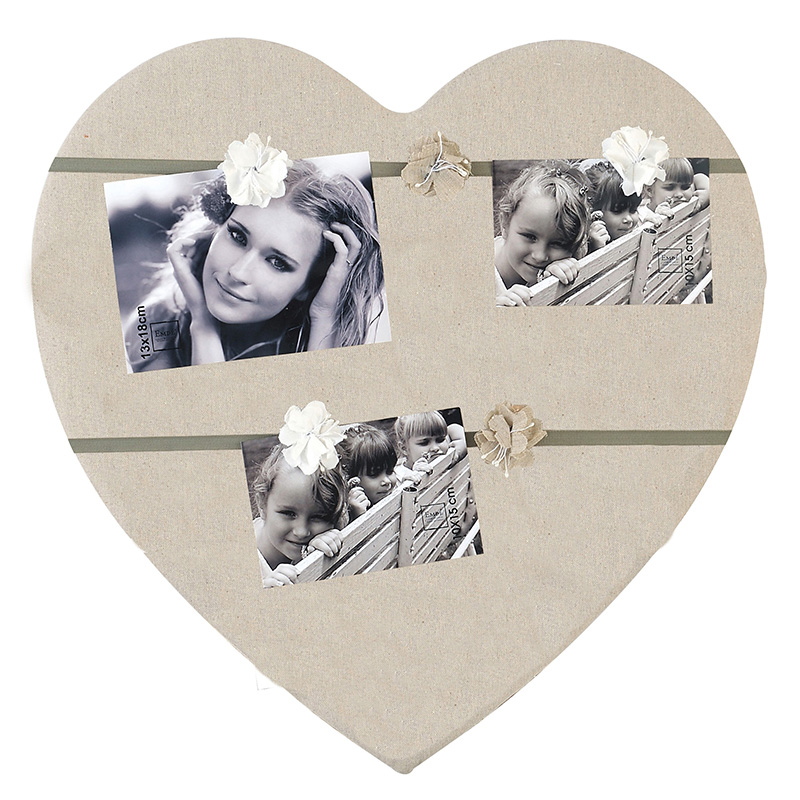 cadre photo 50x50 en c ur multivue p le m le emd. Black Bedroom Furniture Sets. Home Design Ideas