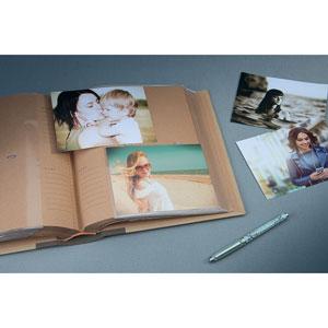 Album photo kraftty 2 Memo Brun 200 photos 11,5x15