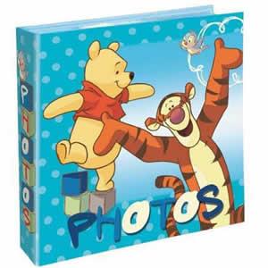 Album 200 photos 10x15cm Winnie the Pooh bleu