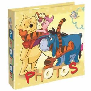 Album 200 photos 10x15cm Winnie the Pooh jaune
