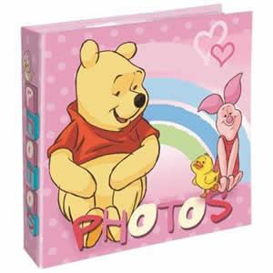 Album 200 photos 10x15cm Winnie the Pooh rose
