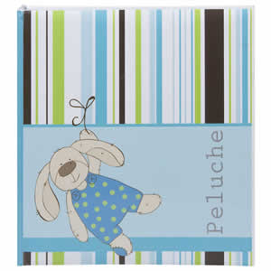 Album Peluche bleu 200 photos 10x15cm enfants