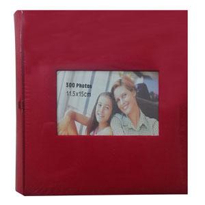 Album photo pochette SQUARE 300 photo rouge