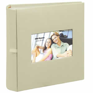Album photo pochette SQUARE 300 photos beige