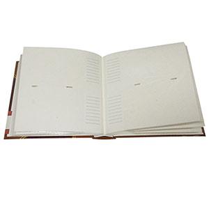 Album pochettes 10x15 200 photos cuir rouge marron