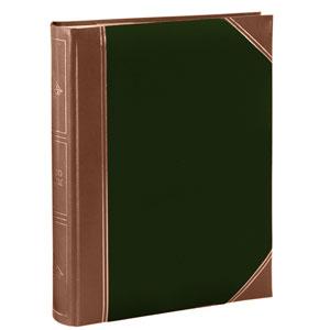 Album pochettes 10x15 300 photos vert rouge marron
