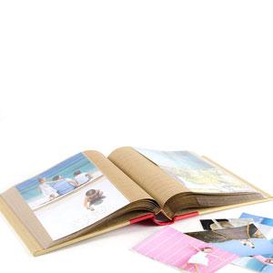 Album 200 photos kraft  à pochettes Greenearth 11x15cm