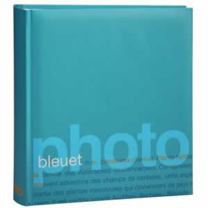 Album photo bleu Words 200 photos 11,5x15