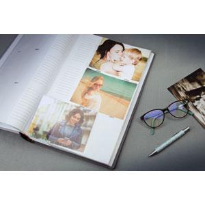 Album photo Ellypse 2 Gris 300 photos 11,5x15