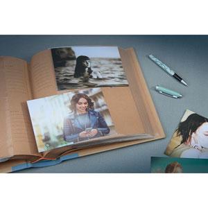 Album photo kraffty 2 Memo Bleu ciel 200 photos 11,5x15