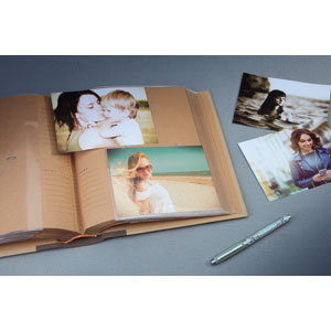 Album photo kraftty 2 Memo Brun 500 photos 11,5x15