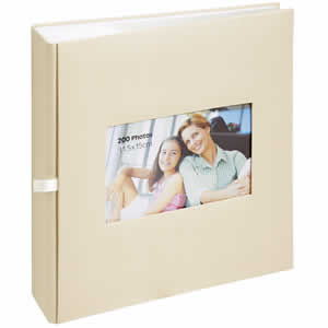 Album photo pochette Erica SQUARE 200 photos beige