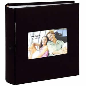 Album photo pochette SQUARE 300 photo noir
