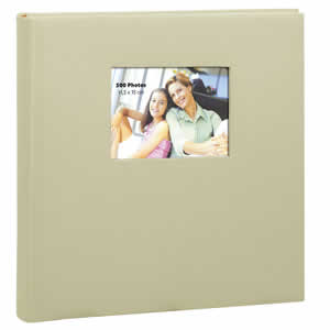 Album photo pochette SQUARE 500 photos beige