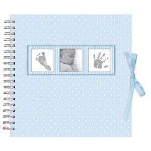 Album Photo, Bleu, Baby Polka naissance