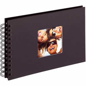 Album photo  noir Fun 40 photos 10x15 ou 13x18cm
