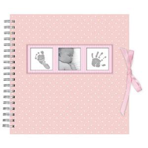 album Photo, Rose, Baby Polka naissance