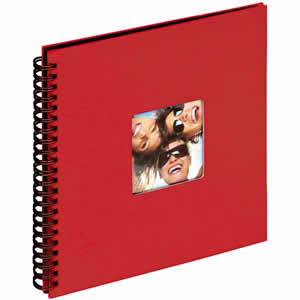 Album photo rouge Fun 200 photos 11x15cm