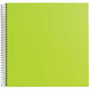 Album photo traditionnel à spirales 30 pages vert