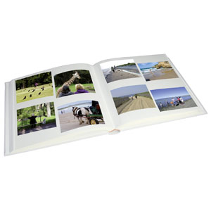 Album photo adhésif 60 pages SQUARE beige