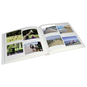 Album photo adhésif 60 pages SQUARE  bordeaux