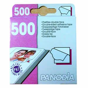 500 pastilles double face pour photos Panodia