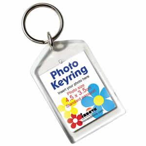 Porte clés photo acrylique 3,5x4,5cm