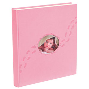 Album naissance PILOO rose - 300 photos