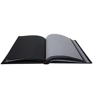 Album photo traditionnel 60 pages Grindy Noir