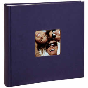 Album photo traditionnel Fun 400 photos bleu