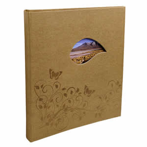 Album photo traditionnel Lovely planet beige
