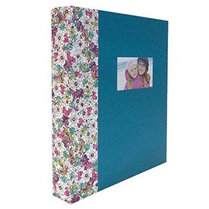 album photo traditionnel Noémie bleu 60 pages