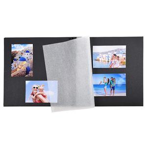 Album photo traditionnel rouge 300 photos à coller