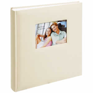 Album photo traditionnel SQUARE 300 photos beige
