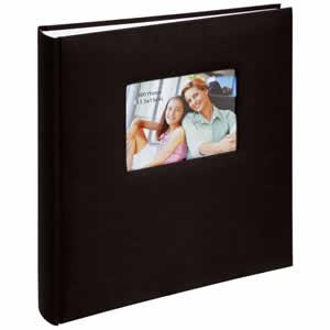Album photo traditionnel SQUARE 300 photos noir