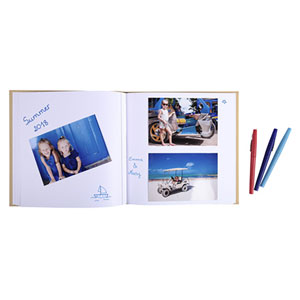 Album Photos Livre Zephire 30 pages blanches 25x25cm