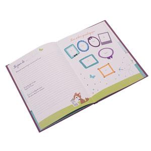 Livre de naissance Panodia foxy 40 pages